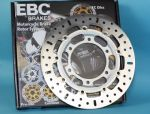 TROPHY 900 1994-01 Front Brake Discs EBC MD640: 1 Pair. KBA/TuV. PLUS 12 Free polished Stainless Steel Disc Bolts!